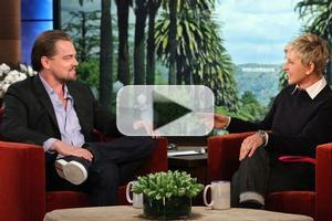 VIDEO: Leonardo DiCaprio Talks 'Wall Street' on Today's ELLEN