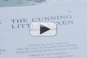 STAGE TUBE: Cleveland Orchestra's THE CUNNING LITTLE VIXEN Production Diary - Part 1