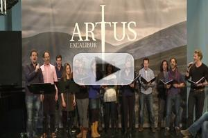 STAGE TUBE: Frank Wildhorn's ARTUS-EXCALIBUR Press Preview in Switzerland!