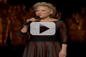 VIDEO: Bette Midler Pays Tribute to Those Lost at Oscars
