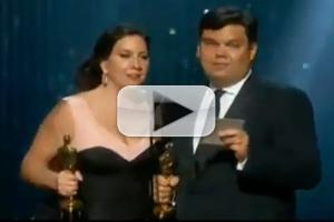VIDEO: Robert Lopez and Kristen Anderson-Lopez Win Oscar for FROZEN's 'Let It Go'