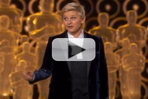 VIDEO: Ellen Mocks Jennifer Lawrence & More in OSCAR Opening Monologue
