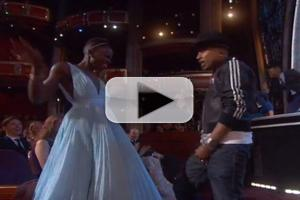 VIDEO: Nyong'o, Streep & More Rock Out to Pharrell's 'Happy' on OSCARS