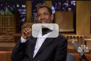 VIDEO: Denzel Washington Talks A RAISIN IN THE SUN on 'Fallon'