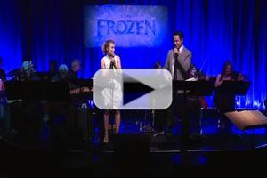 VIDEO: FROZEN's Kristen Bell and Santino Fontana Perform 'Love Is an Open Door' Live in LA
