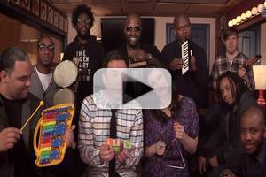 VIDEO: Idina Menzel, Jimmy Fallon & The Roots Perform 'Let It Go' w/ Classroom Instruments!