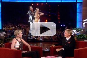VIDEO: Miley Cyrus Chats Controversial VMAs Performance on Today's ELLEN
