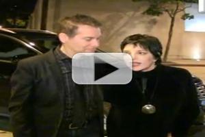VIDEO: Liza Minnelli Didn't Care for Ellen's Drag Queen Joke