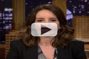 VIDEO: Tina Fey Lip Flips with Jimmy Fallon on TONIGHT!
