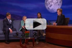 VIDEO: Betty White and Jason Momoa's Sexy Banter on Tonight's CONAN
