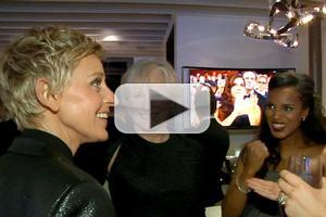 VIDEO: ELLEN Goes Behind-the-Scenes of THE OSCARS