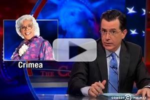 VIDEO: Stephen Gives Primer on Crimea on COLBERT