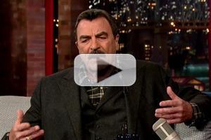 VIDEO: Tom Selleck Talks 'Indiana Jones' Audition on LETTERMAN