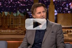 VIDEO: Liam Neeson Talks New Film 'Non-Stop' on FALLON