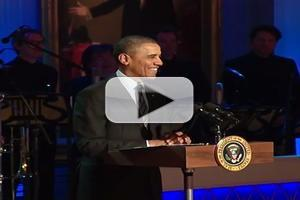 VIDEO: President Obama Botches Spelling of Aretha Franklin's 'Respect'