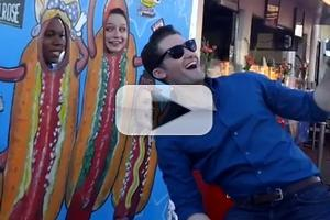 VIDEO: GLEE Cast Loves L.A.! Behind-the-Scenes of Next Episode!