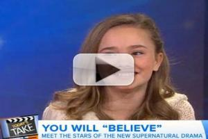 VIDEO: Stars of NBC's BELIEVE Chat On-Screen Chemistry on 'Today'