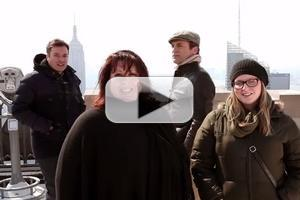 VIDEO: Jimmy Fallon & Jon Hamm Photobomb New York Tourists