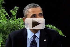 VIDEO: Zach Galifianakis Sits Down with President Obama on BETWEEN TWO FERNS