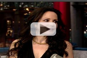 VIDEO: Mary-Louise Parker Shares Parenting Tips on LETTERMAN