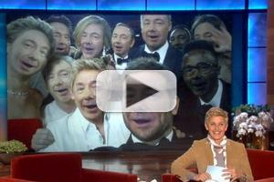 VIDEO: ELLEN Invites Fans to Submit Their Own Version of Oscar Selfie