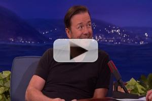 VIDEO: Ricky Gervais Reveals Supervillain Aspirations on Tonight's CONAN