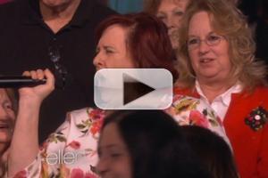 VIDEO: ELLEN's Audience Breaks Out in Frozen's 'Let It Go'