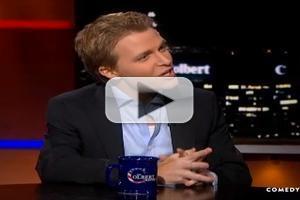 VIDEO: Ronan Farrow Stops by THE COLBERT REPORT
