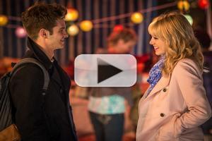 VIDEO: Emma Stone & Andrew Garfield Get Steamy in New AMAZING SPIDER MAN Clip