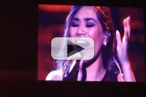 STAGE TUBE: Jessica Sanchez Sings FROZEN's 'Let It Go' with Robert Lopez at Pinoy Relief Benefit