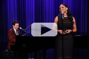 VIDEO: Audra McDonald Sings Yahoo! Answers on JIMMY FALLON