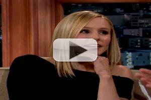 VIDEO: Kristen Bell Reveals 'I Spooned a Kangaroo' on CRAIG FERGUSON