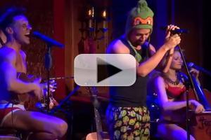 STAGE TUBE: Lin-Manuel Miranda Performs Outkast Medley with The Skivvies at 54 Below