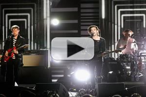 VIDEO: The 1975 Perform 'Chocolate' at 2014 mtvU Woodie Awards