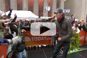 VIDEO: Enrique Iglesias Performs 'I'm a Freak' on TODAY
