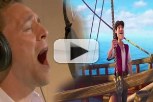 VIDEO: First Listen: Tom Hiddleston Sings as THE PIRATE FAIRY's 'Captain Hook'