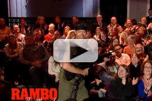 STAGE TUBE: RAMBO the Musical Coming Next? Letterman Spoofs Stallone's Next Show