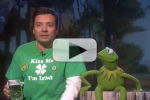 VIDEO: JIMMY FALLON & Kermit Sing 'It's Not Easy Being Green'
