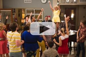 VIDEO: Kristin Chenoweth & More on GLEE's 100th Episode; Watch All the Performances