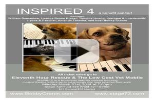 STAGE TUBE: Trailer For INSPIRED 4: A BENEFIT CONCERT, Starring Kerrigan & Lowdermilk, Bobby Cronin and More