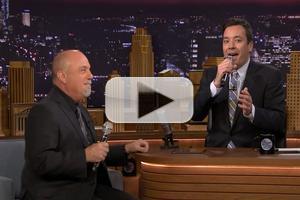VIDEO: Billy Joel & Jimmy Fallon Sing Doo Wop; 'You May Be Right' on TONIGHT