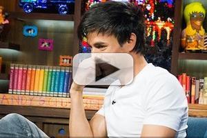 VIDEO: Enrique Iglesias Teaches Art of Seduction on WATCH WHAT HAPPENS
