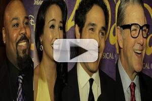 BWW TV: Broadway is a Whole New World! Chatting with the Cast of ALADDIN on Opening Night