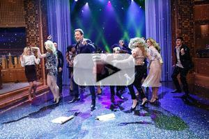 VIDEO: Kevin Bacon Makes Epic 'Footloose' Entrance on JIMMY FALLON