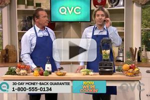 VIDEO: Schwarzenegger Hawks QVC Products on JIMMY FALLON