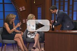 VIDEO: Today's Kathie Lee and Hoda Enjoy Wine Tasting on SETH MEYERS