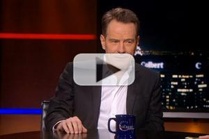 VIDEO: Bryan Cranston Talks ALL THE WAY on Colbert