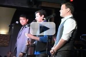 STAGE TUBE: Telly Leung Sings WICKED & More at LA's Rockwell