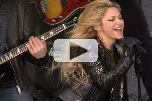 VIDEO: Shakira Performs 'Hips Don't Lie' & New Single 'Empire' on TODAY!