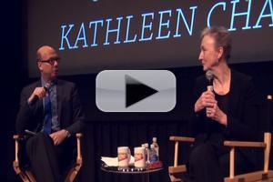 BWW TV Exclusive: Backstage with Richard Ridge- SAG Foundation Conversations Series with Kathleen Chalfant